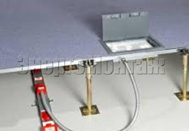 Применение электрантов всистеме фальшпола