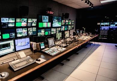 Фальшпол в телестудий и радиовещательных компаний