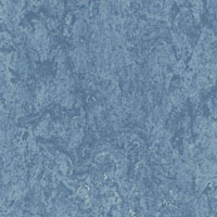 Линолеум натуральный Forbo Marmoleum Real 3055 Fresco Blue (голубой) 2x32 м